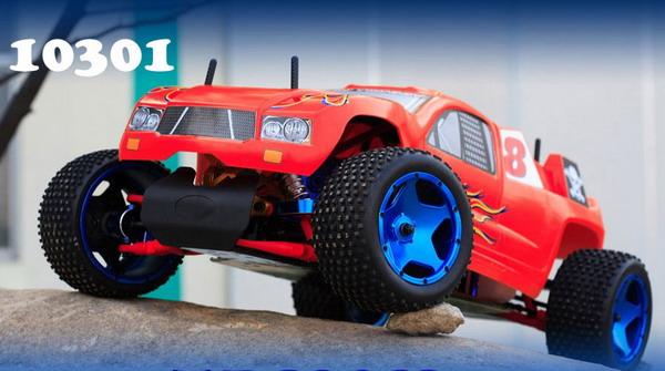 1/5 30cc Gas Powered 2WD Truggy with FUTABA 2PY radio+ GWS 22KG