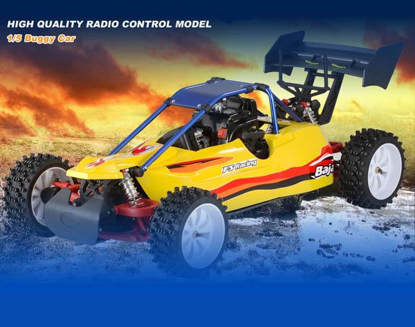 1/5 30cc Gas Powered 2WD buggy with FUTABA 2PY radio+ GWS 22KG