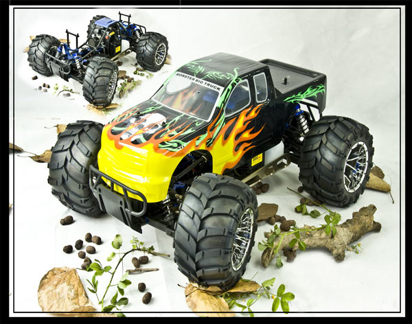 1:5th 23cc 4WD GAS powered off road Monster Truck