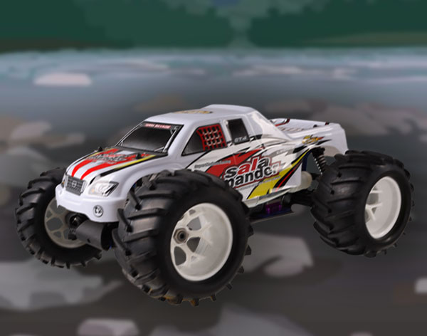 1:8 Scale 4WD nitro gas powered monster truck