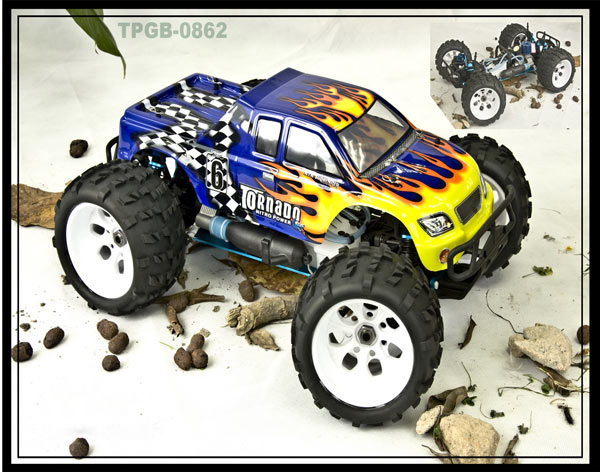 1:8 monster truck (AM)  Simple version