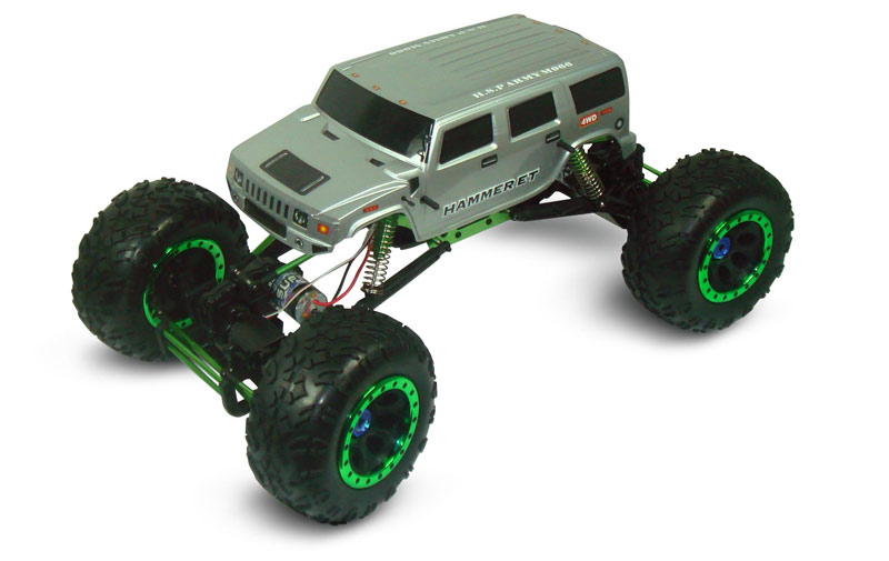 1/8th Scale Electric Powered Off Road Climbing Hammer