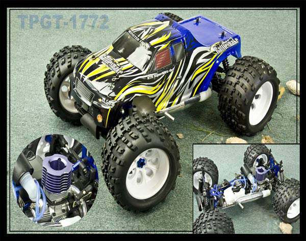 1/8th scale GP monster truck