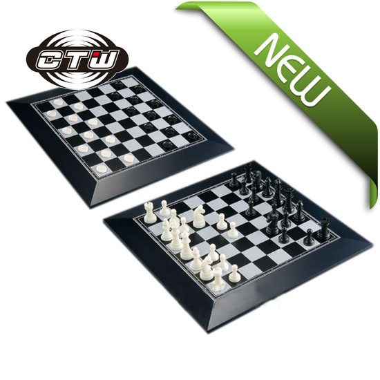 2 in 1 magnetic chess and checkers