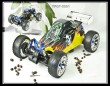 1:5th 23cc 4WD GAS powered off road Buggy